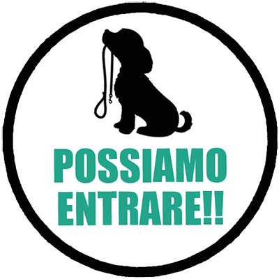Dog Friendly! Da noi i cani possono entrare!